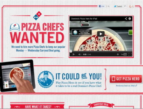How Games Can Recruit The Right Employees: Pizza Hero by Domino's